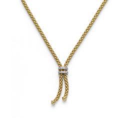 Collier Brillanten Halskette Fope