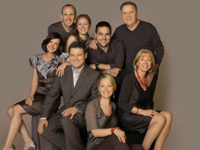 Die Familie Gamper mit gemeinsamer Freude am Beruf