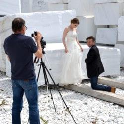 Filmaufnahmen für Werbespot