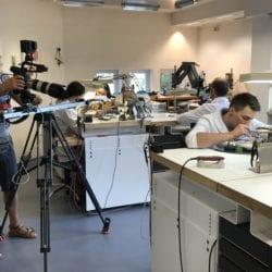 Der LVH besucht die Teilnehmer des diesjährigen WorldSkills, um die Vorbereitungen festzuhalten.