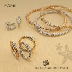 Fope - Ohrringe, Ringe, Armbänder