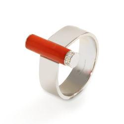 Korallen-Ring La Preziosa