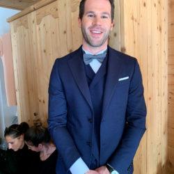 Der Bräutigam Matthias Heckes