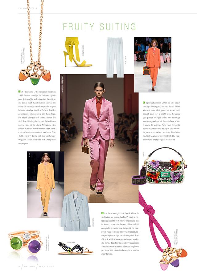 Fashion Trends Frühling/Sommer 2019 - Tiroler Goldschmied