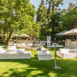 Der Garten von Schloss Rametz