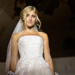 Katia im Brautkleid