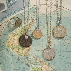 LA PREZIOSA - Ketten und Ring Coin