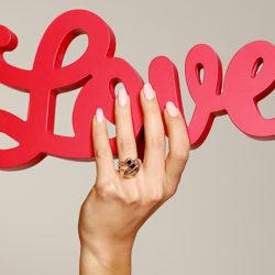 Valentinsgeschenk Liebe ist