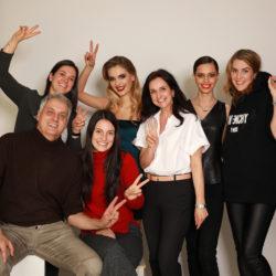 Das Fotoshooting-Team