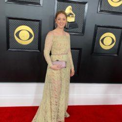 Maria Gamper bei der Grammy-Verleihung