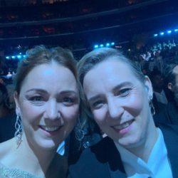 Maria Gamper und Ulrike Schwarz live bei der Grammy-Verleihung