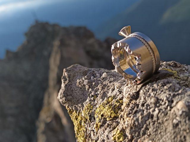 Alpenring - Blick auf dem Ifinger