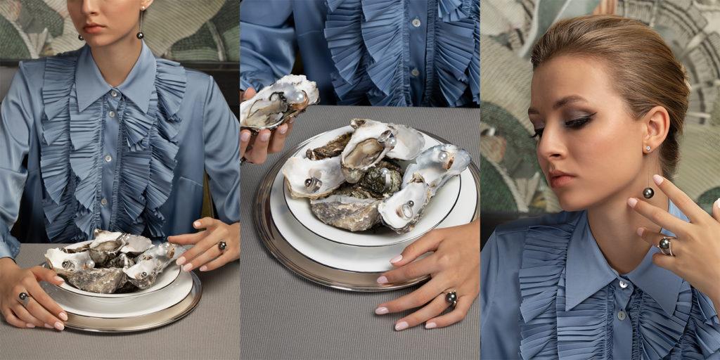 Juwelen Dinner Perlenschmuck